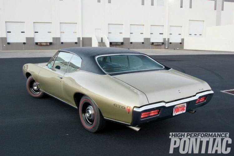 1968 Pontiac GTO cars wallpaper