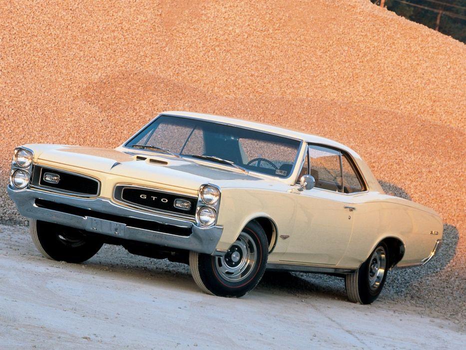 1966 Pontiac GTO cars wallpaper