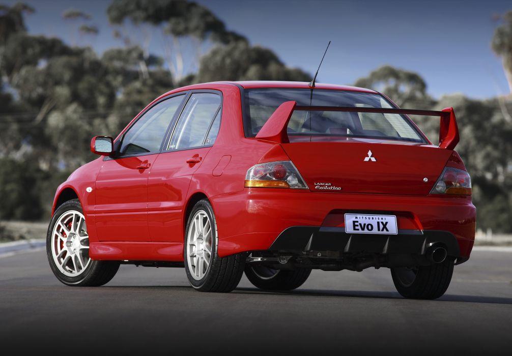 2005 07 Mitsubishi Lancer Evolution Ix Au Spec Wallpaper 3600x2505