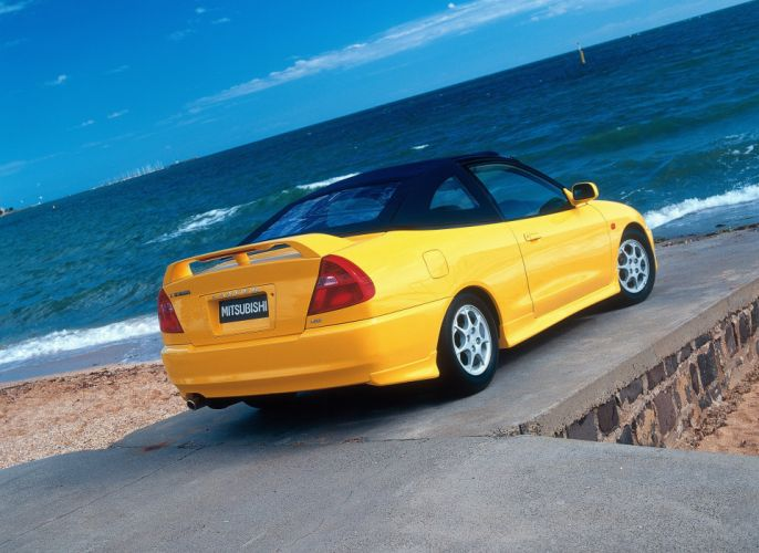 2001 Mitsubishi Lancer MR Cabrio AU-spec C-E m-r wallpaper
