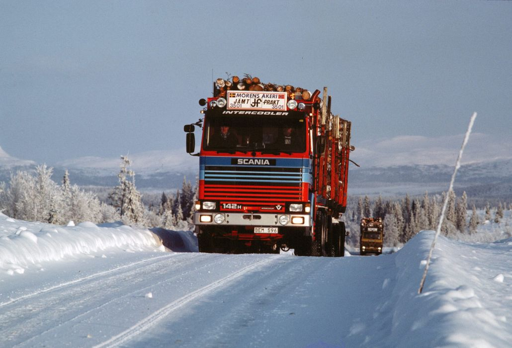 1981 Scania 142H 6A wallpaper