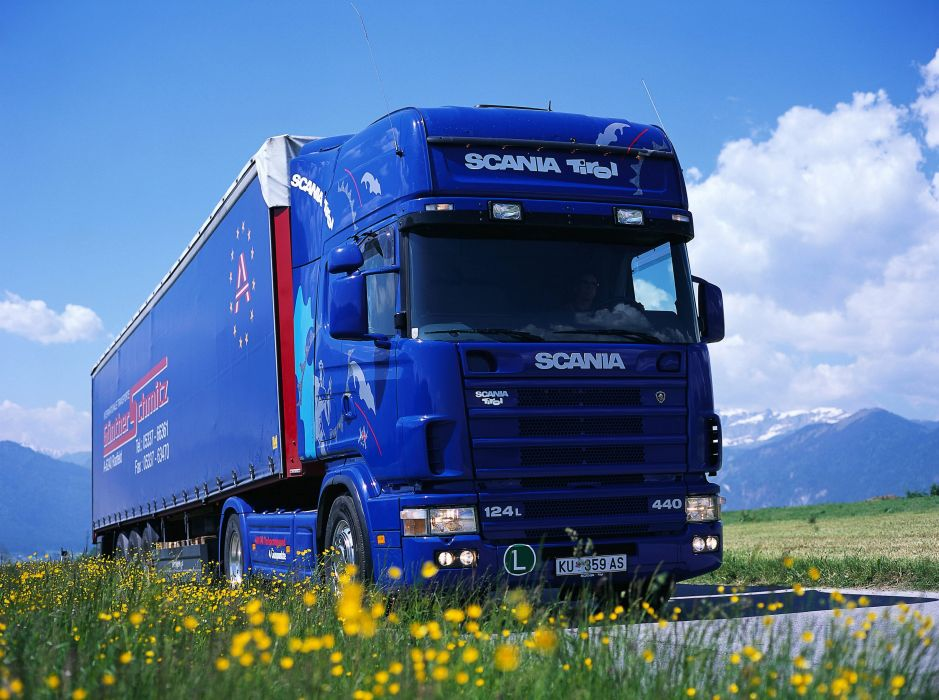 1995-04 Scania R124L 440 4A wallpaper