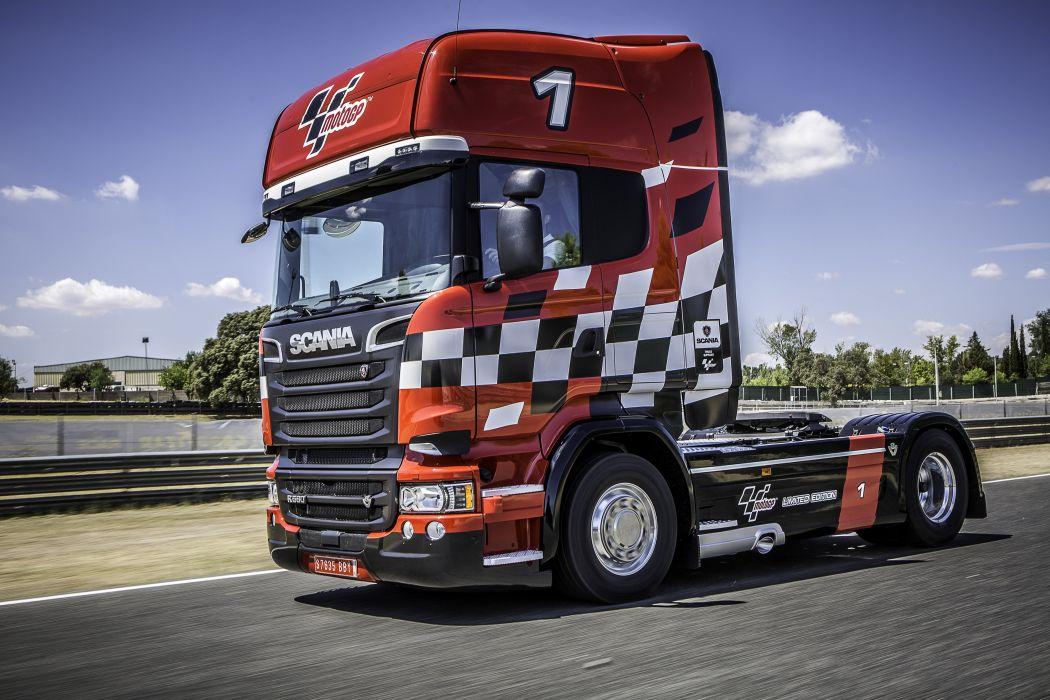 2015 Scania V8 MotoGP semi tractor race racing rally v-8 wallpaper