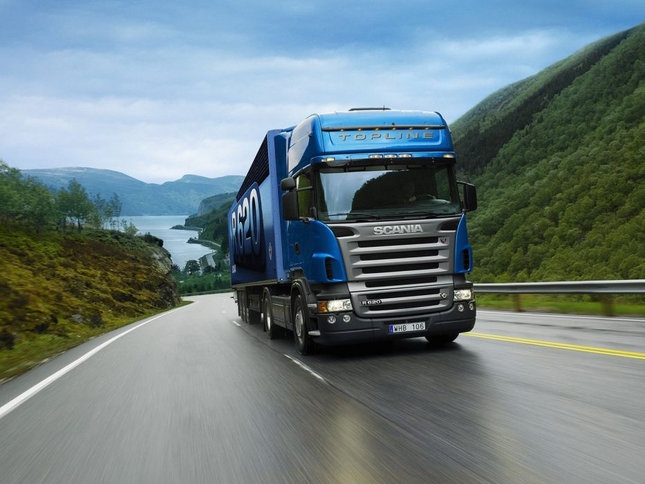 2005-09 Scania R620 4x2 Topline semi tractor wallpaper