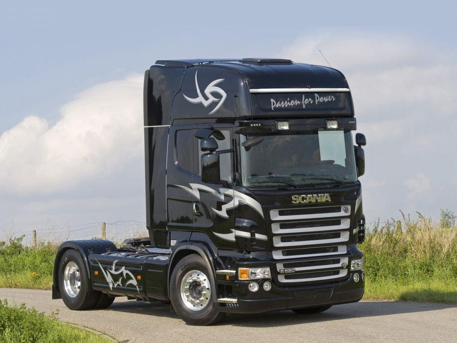 2005-09 Scania R620 4x2 Topline semi tractor wallpaper