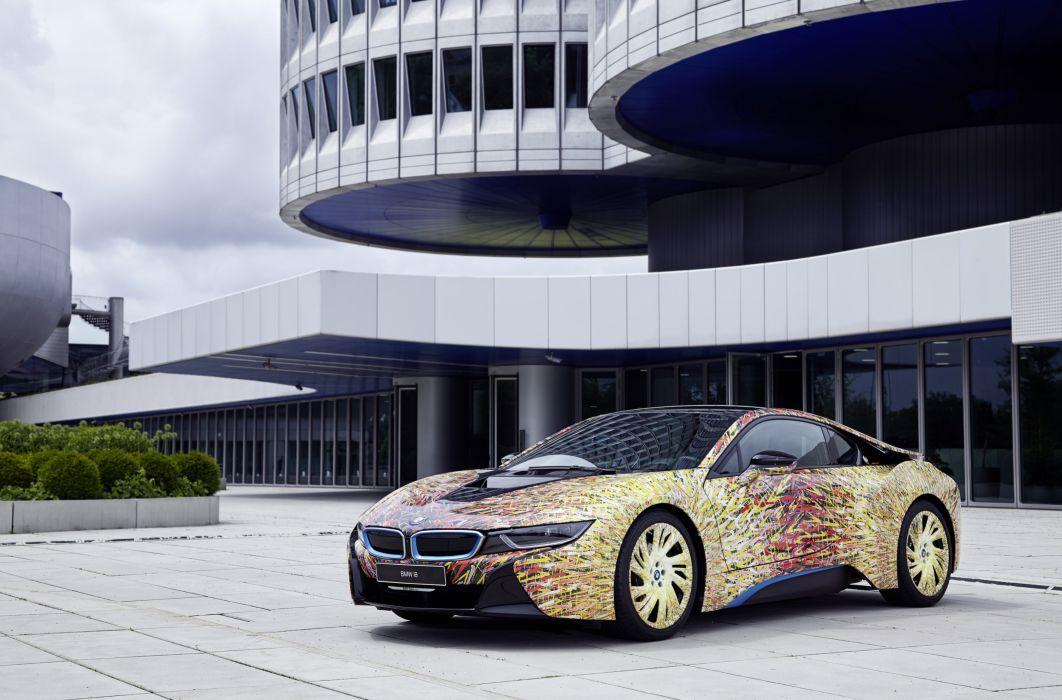 2016 Garage Italia Customs BMW i8 Futurism Edition I12 i-8 tuning wallpaper