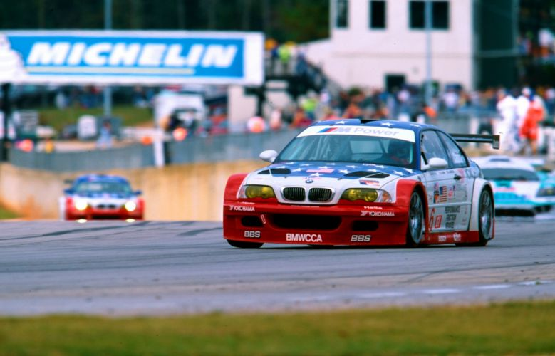 2001 BMW M-3 GTR ALMS E46 race racing rally wallpaper