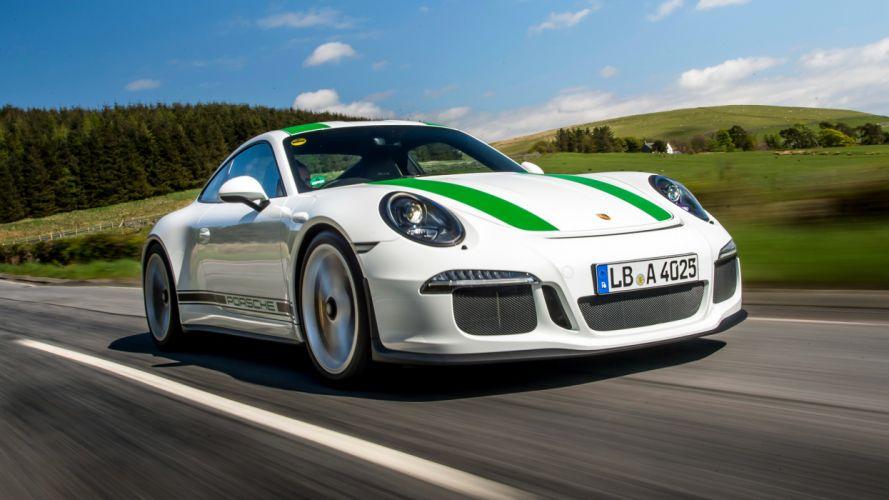 2016 Porsche 911R UK-spec 991 supercar 911 wallpaper