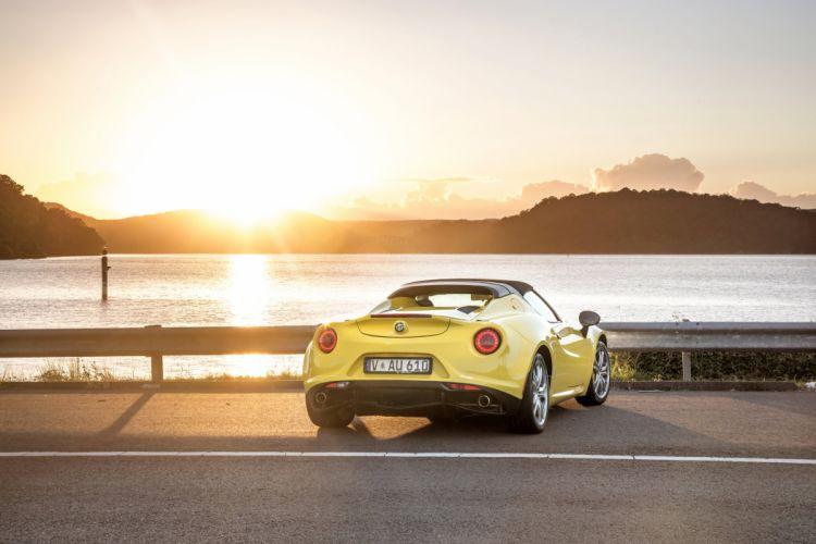 2016 Alfa Romeo 4C Spider AU-spec 960 4-c supercar wallpaper
