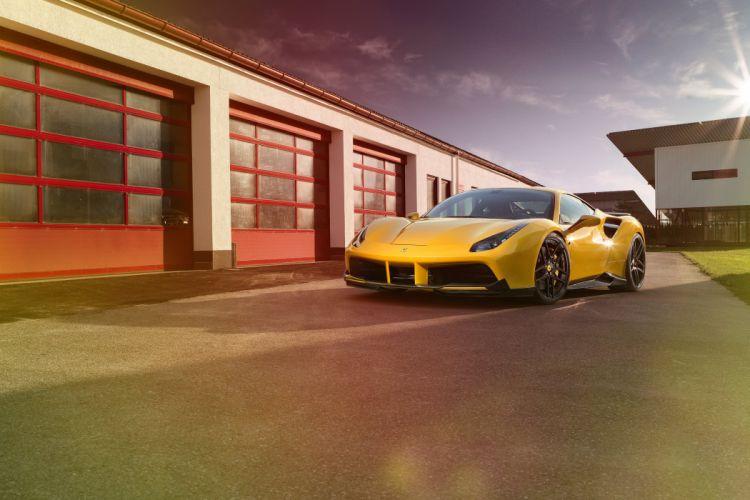 2016 Novitec Rosso Ferrari 488 GTB supercar tuning custom wallpaper