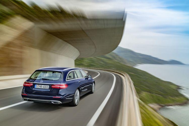 2017 Mercedes Benz E200 d Exclusive Line Estate W213 stationwagon wallpaper