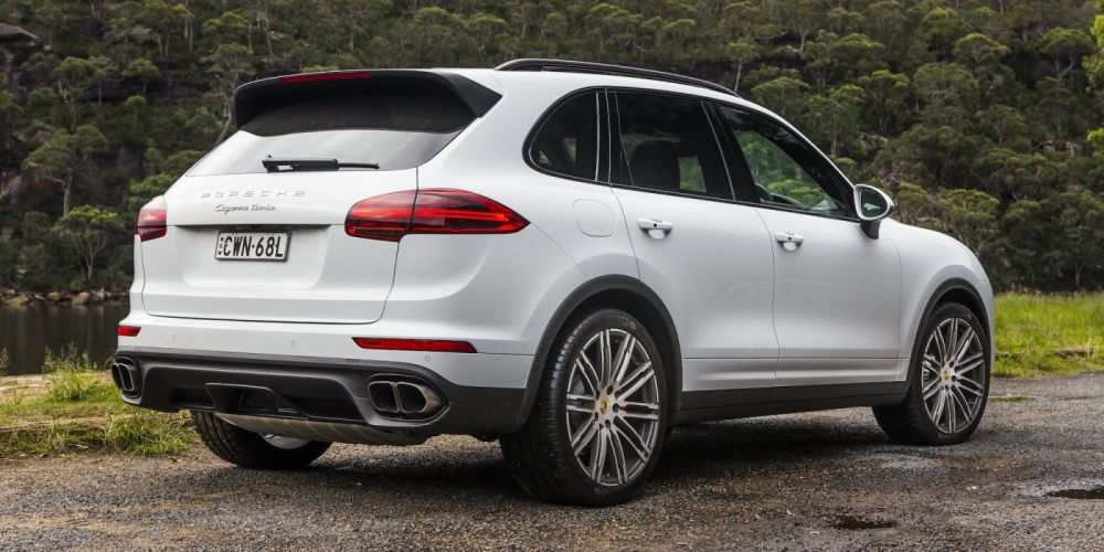 2014 Porsche Cayenne Turbo AU-spec 958 suv awd wallpaper