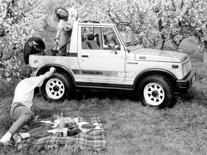 Suzuki Samurai 4x4 suv truck wallpaper