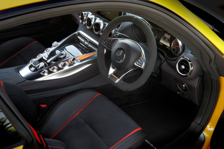 2015 Mercedes AMG GTS Edition-1 AU-spec C190 g-t benz supercar wallpaper