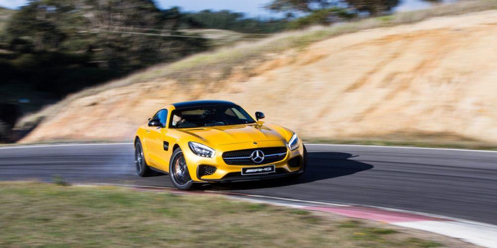 2015 Mercedes AMG GTS Edition-1 AU-spec C190 g-t benz supercar wallpaper