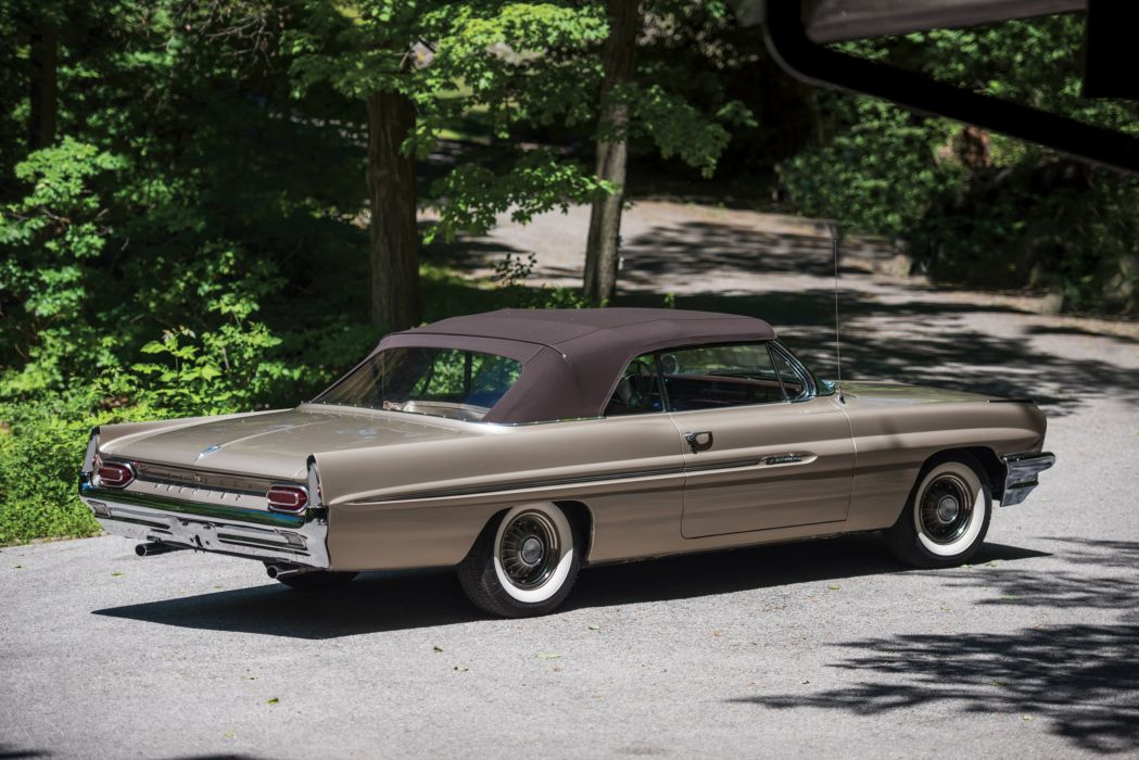 1961 Pontiac Catalina Convertible 2367 luxury muscle classic wallpaper