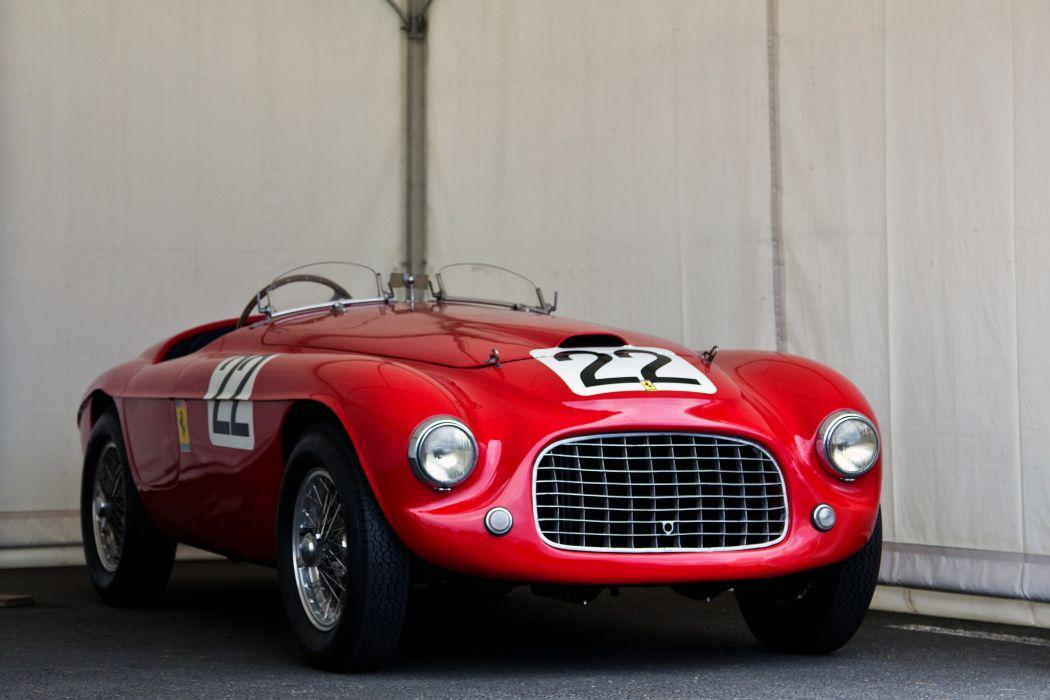 1949 Ferrari 166MM Barchetta Touring 166 supercar race racing retro wallpaper