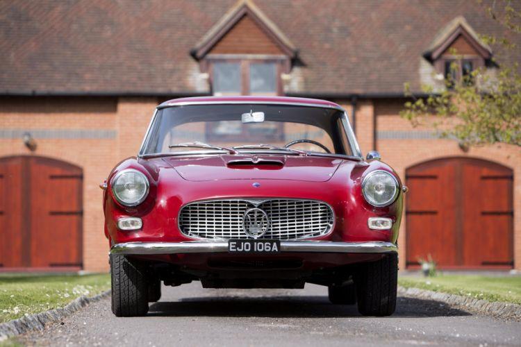 1962 Maserati 3500 GTi Coupe AM101 Touring classic wallpaper