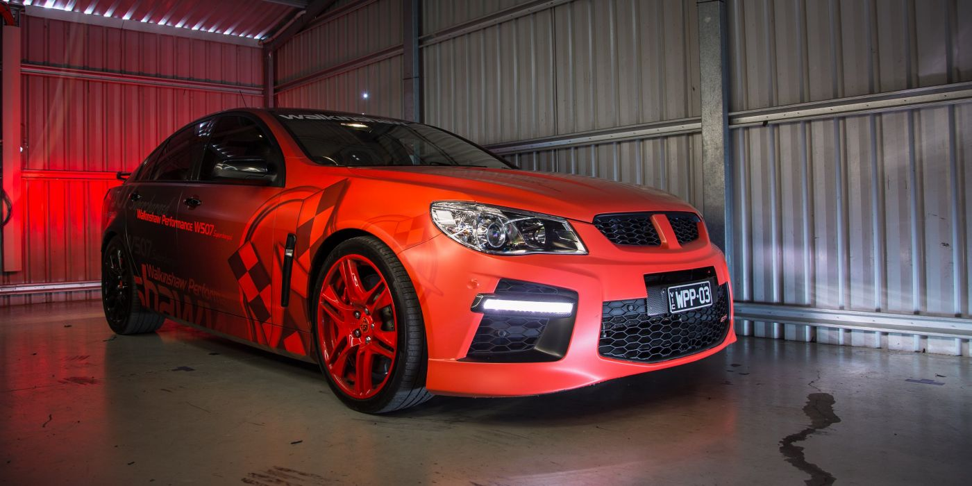 2014 Walkinshaw Performance W507 Supercharged E-Series tuning holden