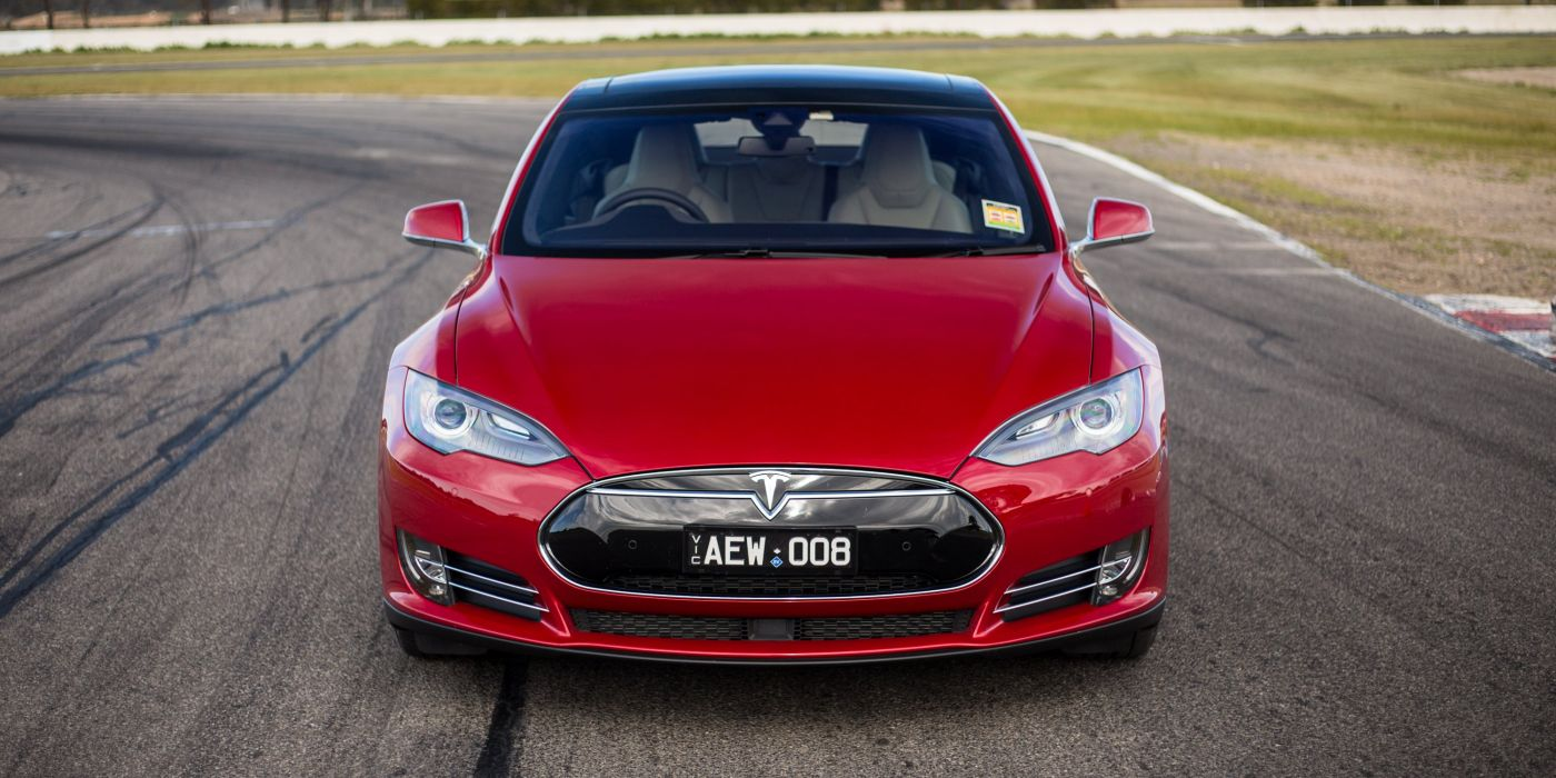 2014-16 Tesla Model-S P85D AU-spec supercar electric wallpaper