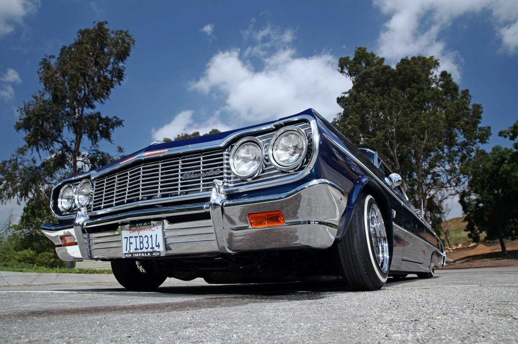 1964 CHEVROLET IMPALA lowrider custom classic tuning wallpaper