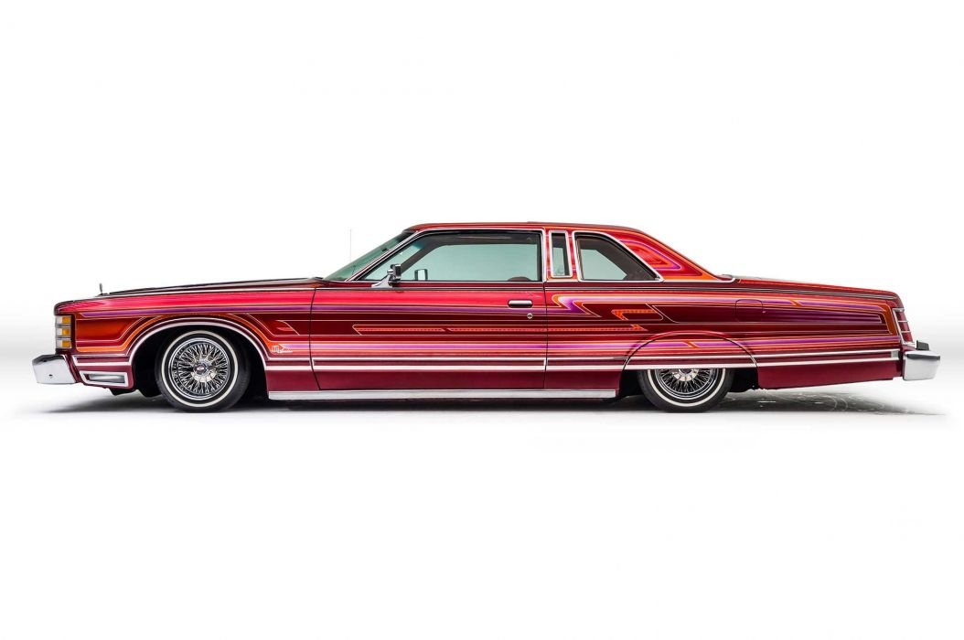 1976 FORD LTD LANDAU lowrider custom classic tuning luxury wallpaper