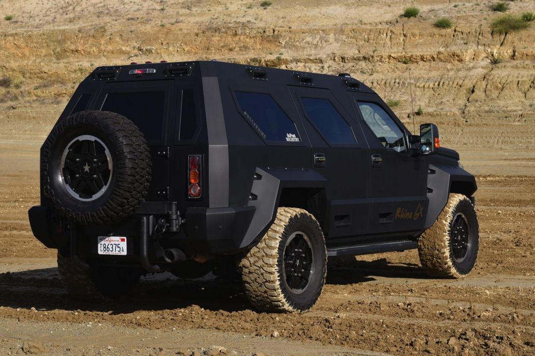2006 Ussv Rhino Gx Ford F450 Four Wheeler Stuart Bourdon suv 4x4 armored wallpaper