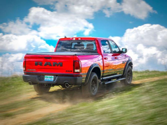 2016 DODGE RAM REBEL pickup mopar 4x4 wallpaper