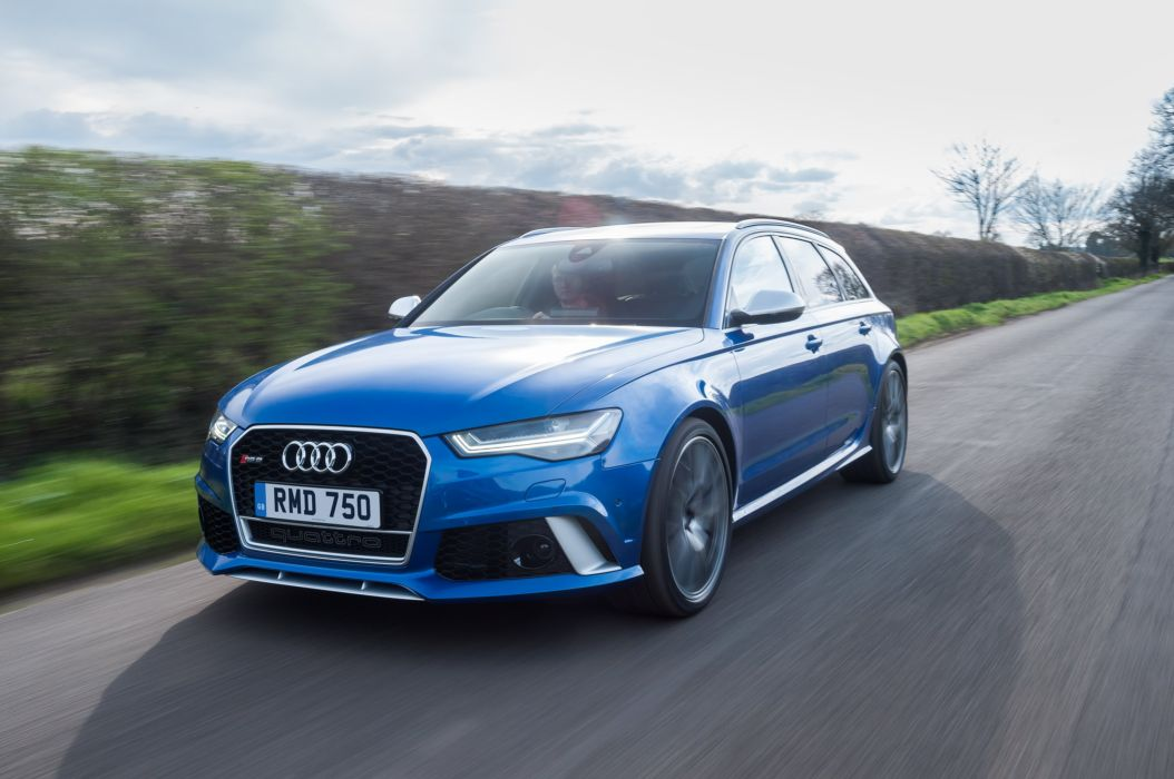 2016 Audi RS6 Avant performance UK-spec stationwagon r-s wallpaper