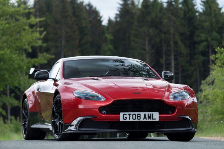 2016 Aston Martin Vantage GT8 UK-spec supercar wallpaper
