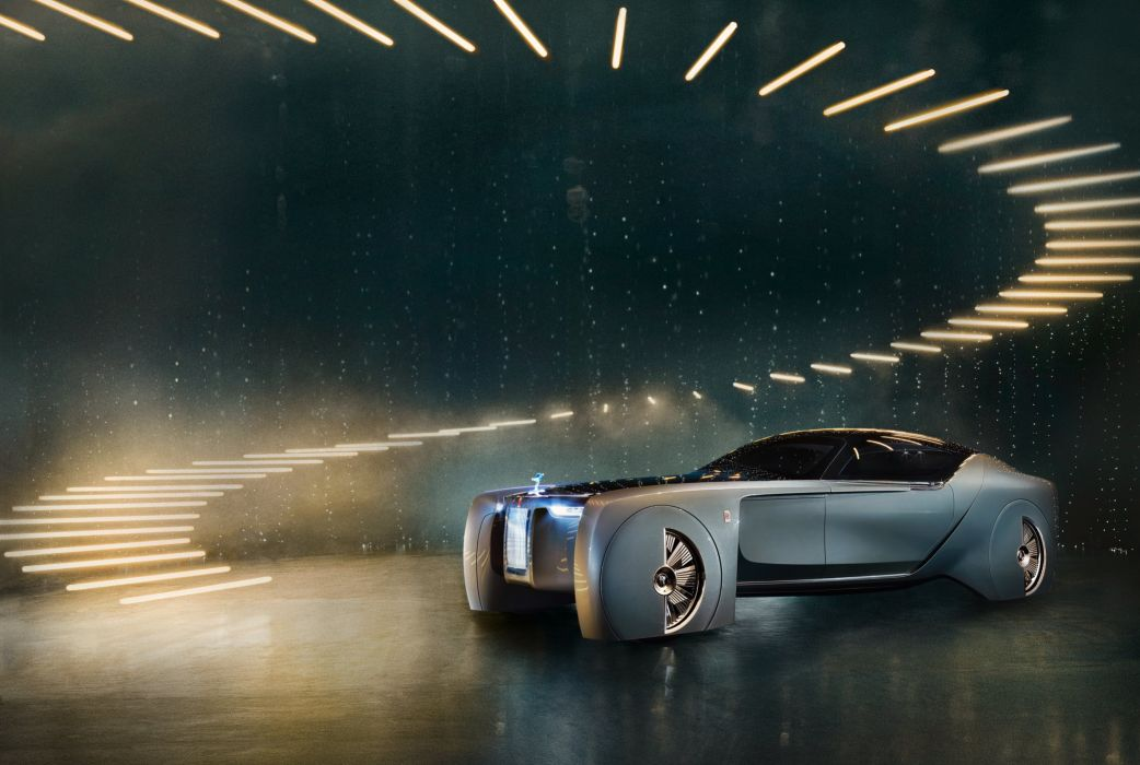 2016 Rolls Royce Vision Next 100 luxury concept wallpaper
