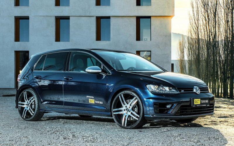 2016 OCT Tuning Volkswagen Golf VII R tuning wallpaper
