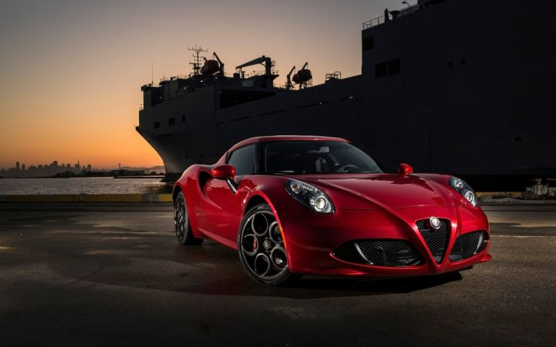 2016 Alfa Romeo 4-C wallpaper