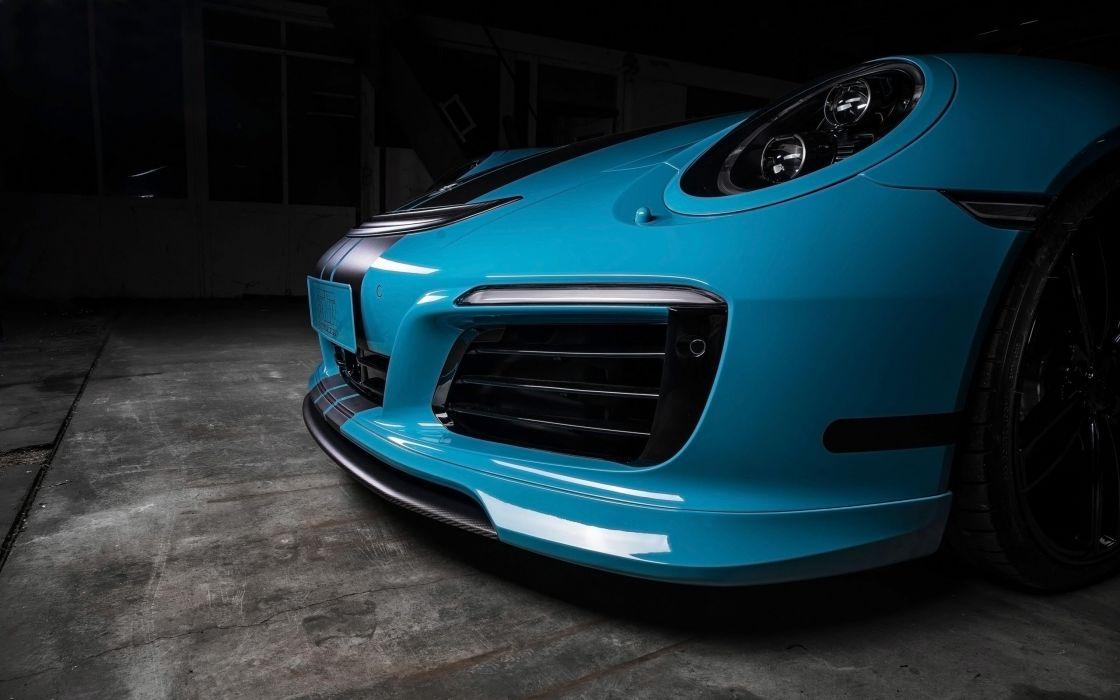 2016 TechArt Porsche 911 tuning wallpaper