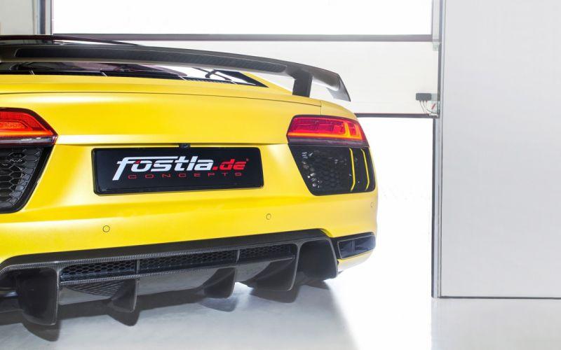 2016 fostla-de Audi R8 V10 Plus fostla tuning v-8 wallpaper
