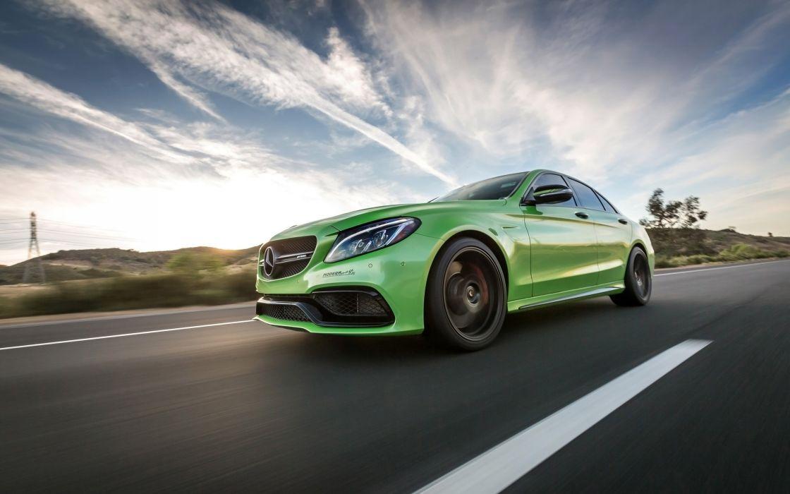 2016 Vorsteiner Mercedes AMG C63 V-FF 106 tuning benz wallpaper