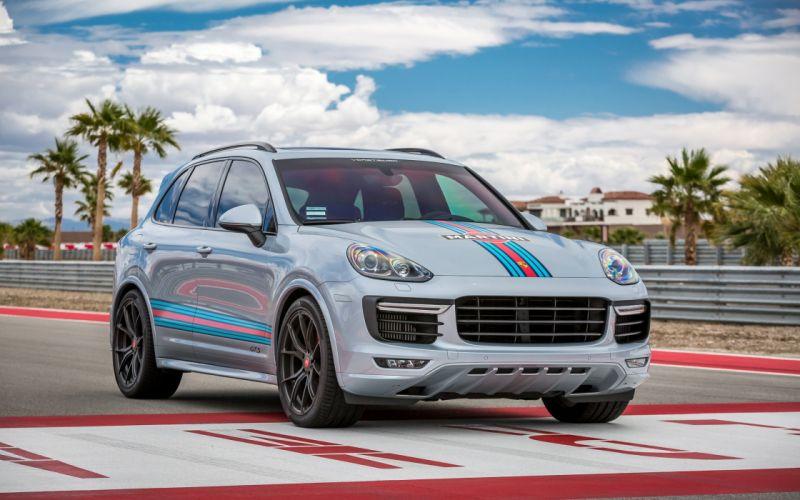 2016 Vorsteiner Porsche Cayenne V-FF 103 tuning gts suv wallpaper