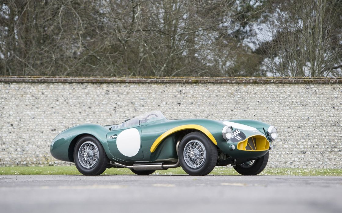 1953 Aston Martin DB3S race racing retro db3 wallpaper