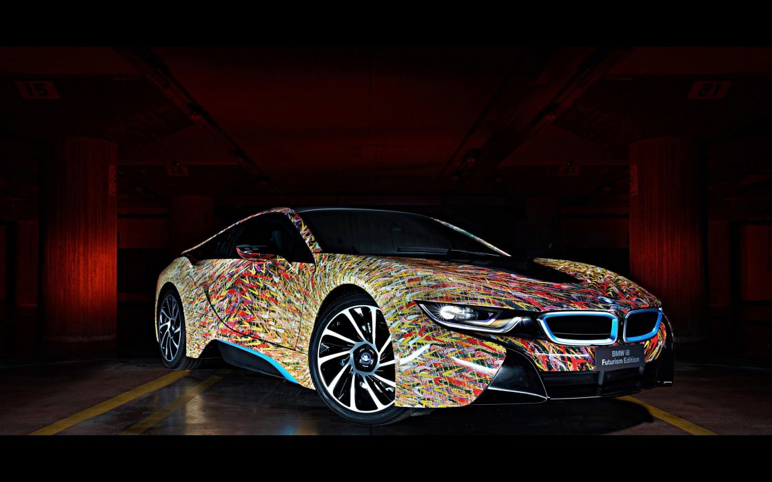 2016 BMW i8 Futurism Edition tuning i-8 wallpaper