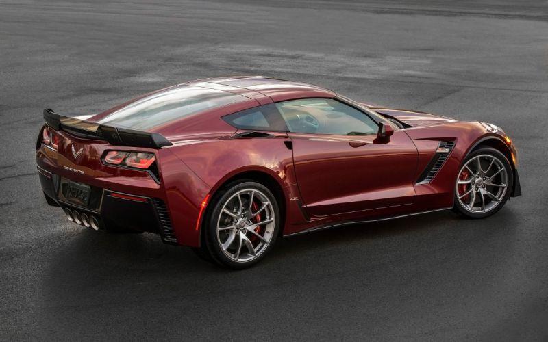 2016 Chevrolet Corvette Z06 muscle supercar wallpaper