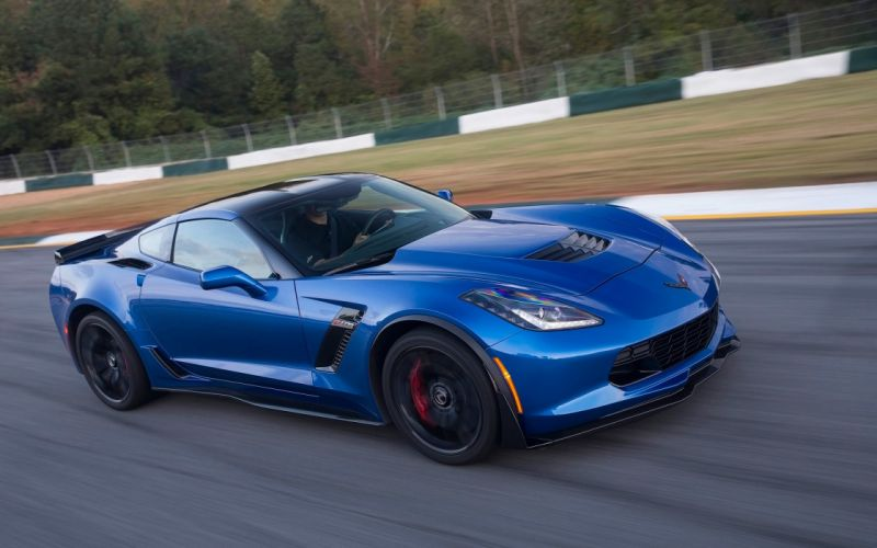 2016 Chevrolet Corvette Z06 muscle supercar wallpaper