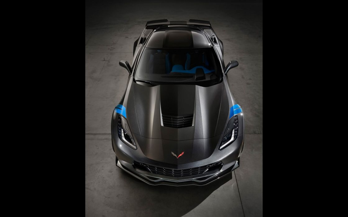 2017 Chevrolet Corvette Grand Sport muscle supercar wallpaper