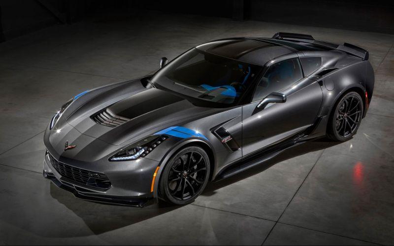 2017 Chevrolet Corvette Grand Sport muscle supercar wallpaper