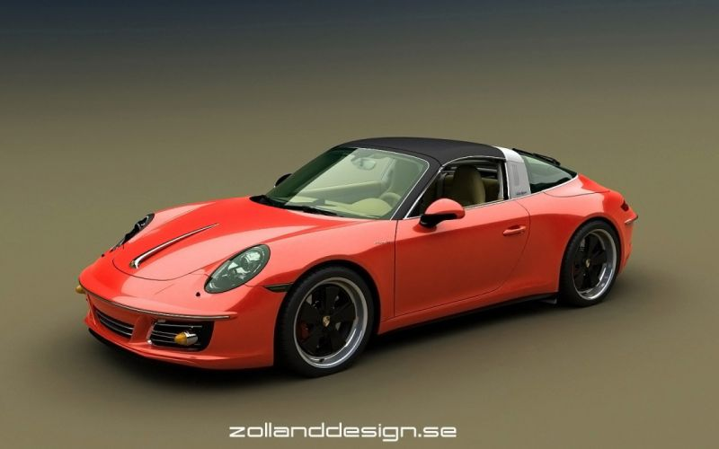 2016 Zolland Design Porsche 991356 Retro tuning wallpaper