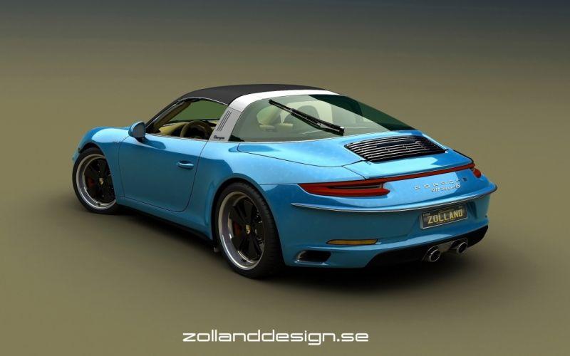 2016 Zolland Design Porsche 991356 Retro tuning wallpaper