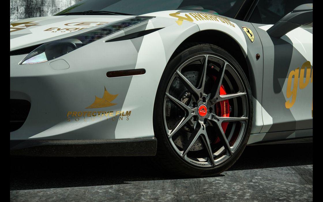 2016 Vorsteiner Ferrari 458 Italia Aero supercar wallpaper