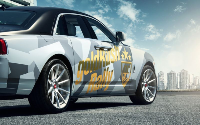 2016 Vorsteiner Rolls Royce Ghost Aero tuning luxury wallpaper