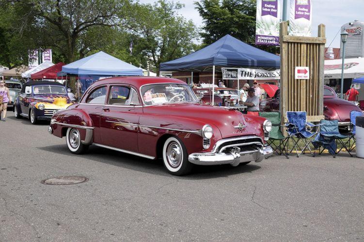 50's cars retro vintage classic cars USA wallpaper