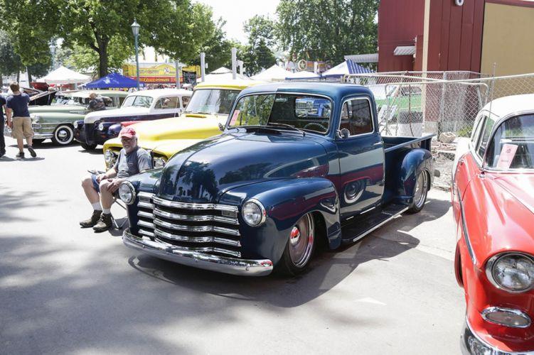 50's cars retro vintage classic cars pickup USA wallpaper
