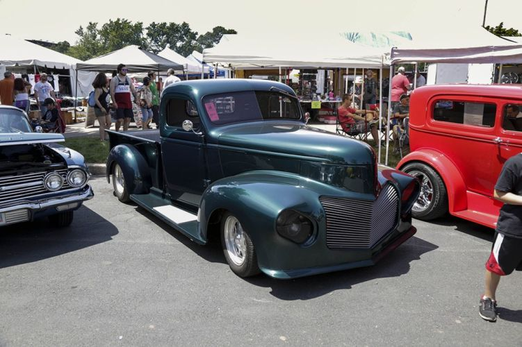 50's cars retro vintage classic cars pickup USA wallpaper